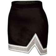 Chasse Womens' Blaze Skirt Navy/White/Metallic Silver Adult 2X-Large Size - 2X-Large