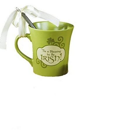 Abbey Press - Abbey Press My Cup Runneth Over  Irish Coffee Cake Mug