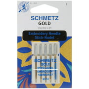 Schmetz Gold Embroidery Machine Needles-Size 14/90 5/Pkg