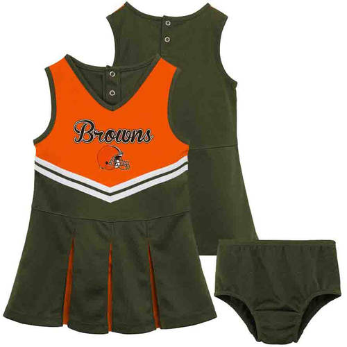 NFL Cleveland Browns Toddler Cheerleader Set