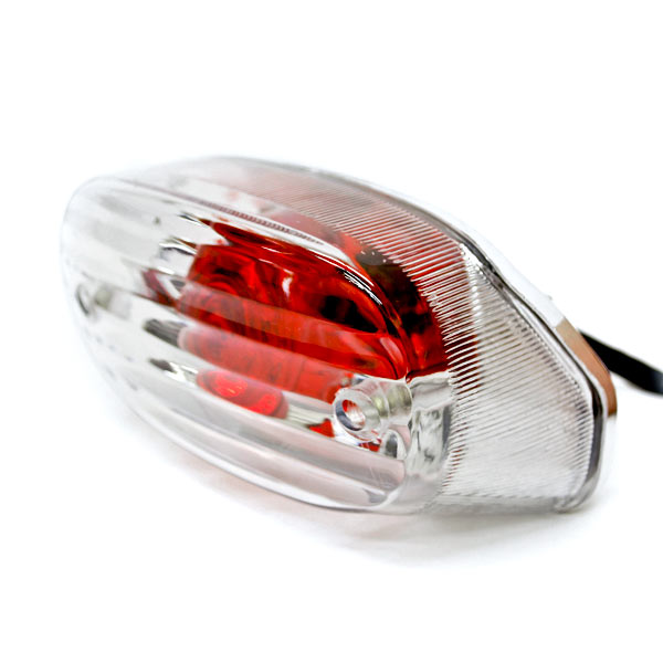 NEW Custom Taillight Brake Rear Tail Light Lamp For Harley Davidson Dyna Glide Fat Bob Super Wide - image 7 of 7