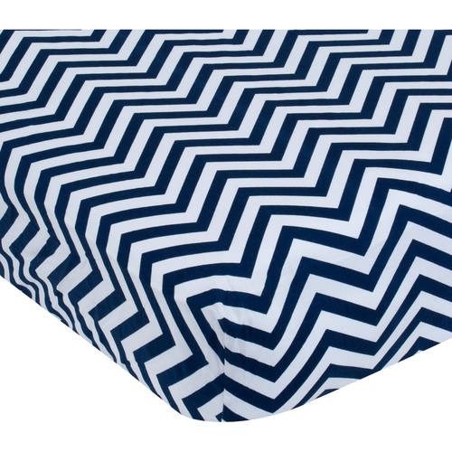 Garanimals Chevron Print Crib Sheet