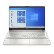 "HP 15-ef107Xnr 15.6"" Notebook with AMD Athlon Gold 3150U 4GB DDR4 256 GB SSD Windows 10 Home (Assorted Colors)"