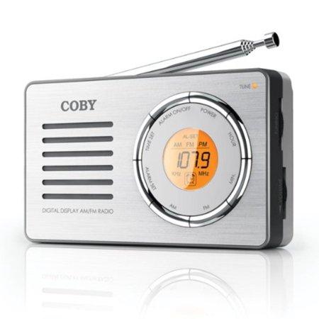 CX50 Compact AM/FM Radio with DDigital Display, Sensitive AM/FM tuner By Coby ()