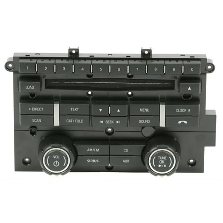 2012-2014 Ford F-150 Pickup OEM  Radio Control Panel Part Number CL3T-18A802-HA - Refurbished ()