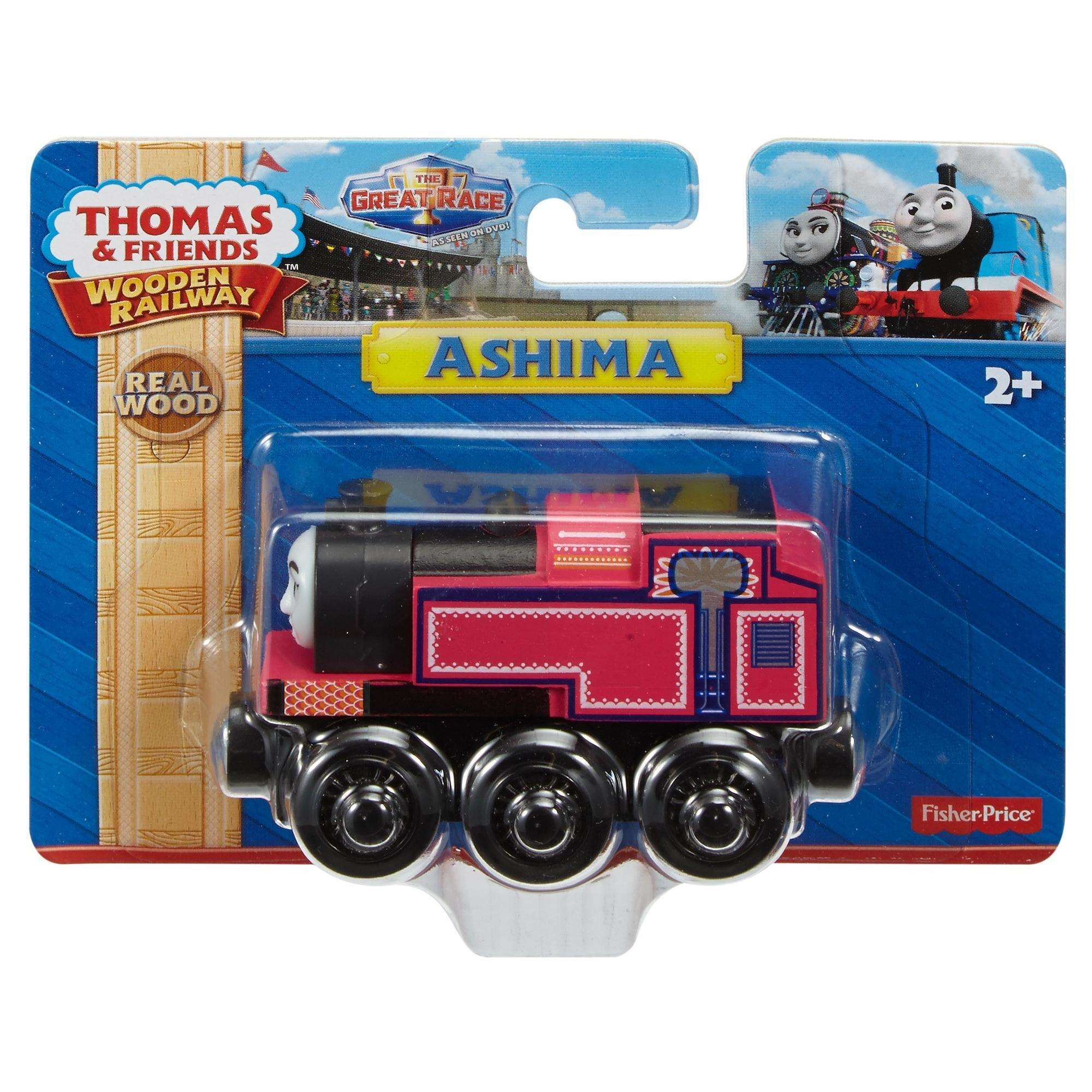 Fisher Price Thomas & Friends Wooden Railway Ashima Walmart