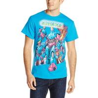 Marvel X-Men Sent Sentinels Mens Blue T-Shirt   S