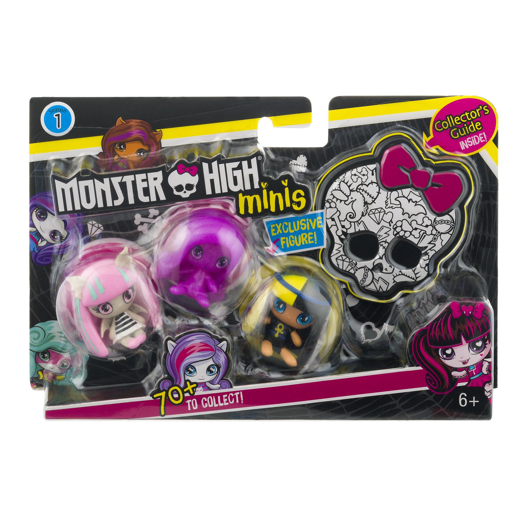 Monster High Minis Figure (3 Pack) by Mattel