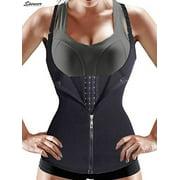 "Spencer Women Sauna Body Shaper Waist Cincher Trainer Underbust Corset Shapewear Tummy Control Slimming Vest ""Size XL"""