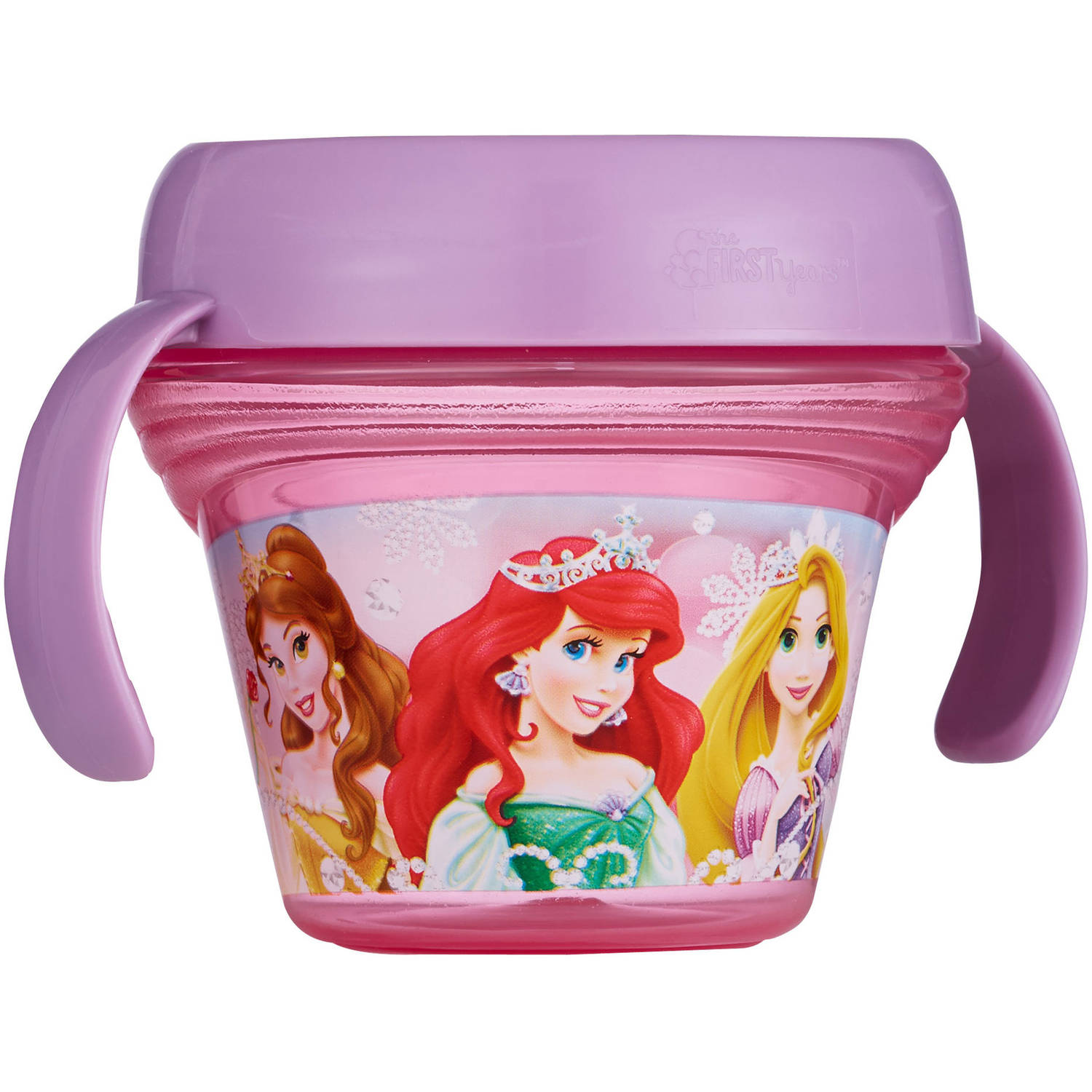 The First Years Disney Princess Spill-Proof Snack Bowl