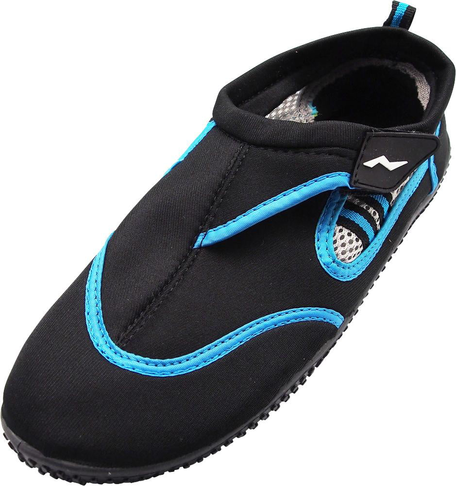 12c00b705cd31 Norty Mens Water Shoes Aqua Socks Surf Yoga Exercise Pool Beach Swim Slip  On