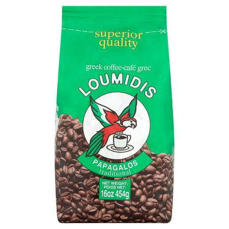 Loumidis Papagalos Traditional Greek Coffee, 16 oz
