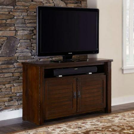 Progressive Furniture Trestlewood TV Console - Mesquite -