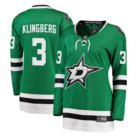 John Klingberg Dallas Stars Fanatics Branded Women's Breakaway Player Jersey - Kelly