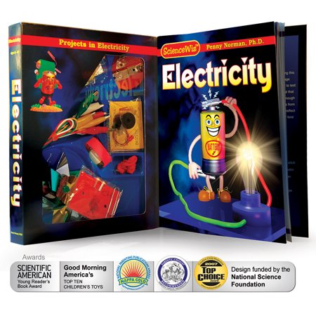 Electricity Kit - ScienceWiz Books and Kits, Electricity