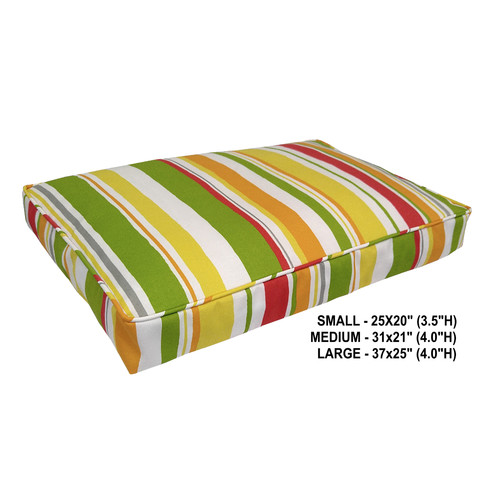 Tucker Murphy Pet Nadia Stripe Indoor/Outdoor Dog Bed