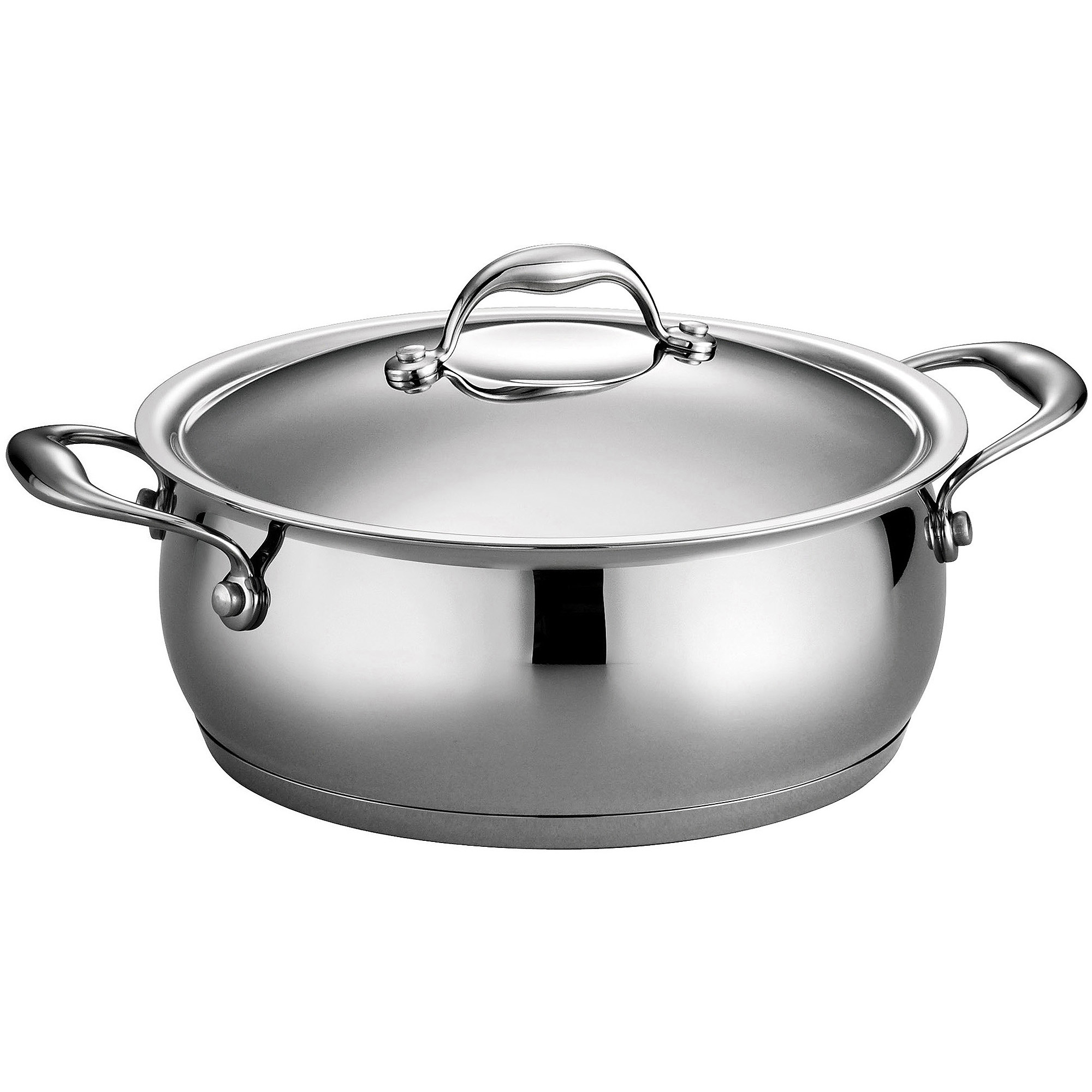 Tramontina Gourmet Enameled Cast Iron Covered Round Dutch Oven ...