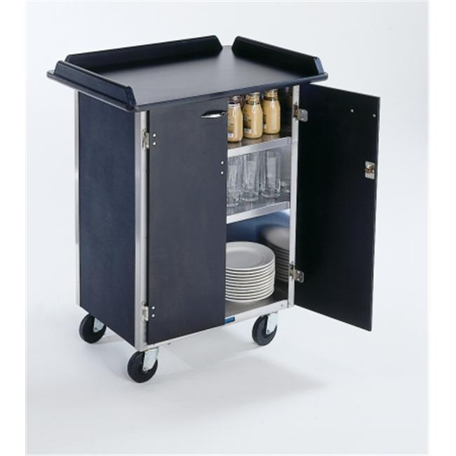 Lakeside 636 Serve-All Mobile Food Station- stainless steel- Beverage Service Cart