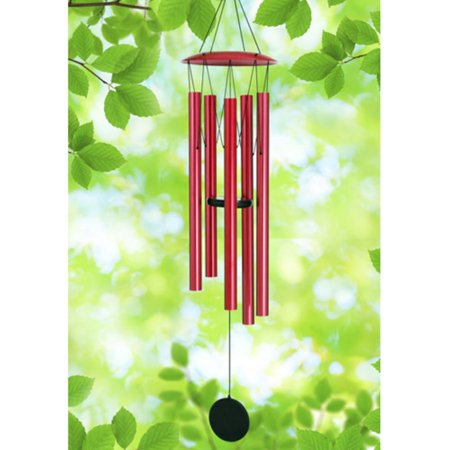 Red Wind Chime