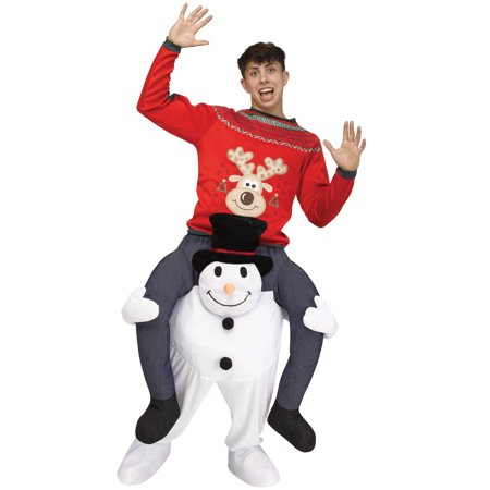 Carry Me Snowman Adult Costume (Abominable Snowman Adult Costume)