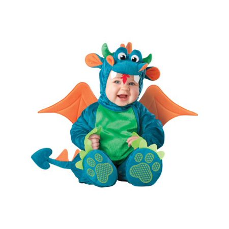 Dinky Dragon Infant/Toddler Costume Blue - image 1 of 1