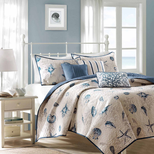Home Essence Rockaway 6-Piece Quilt Set