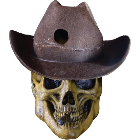 Shadows of Brimstone Undead Outlaw Mask Adult Costume Accessory - Hollywood Undead Mask