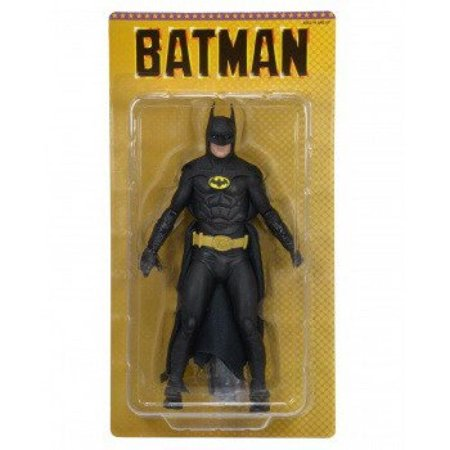 1989 michael keaton as batman 25th anniversary neca 7 tall action - Michael Keaton Batman Mask