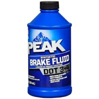 Peak Synthetic Brake Fluid Dot 3+4 12 Fl. oz.