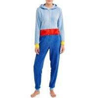 Disney Women's and Women's Plus Aladdin Genie Union Suit Pajamas