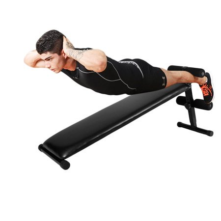 Ktaxon Adjustable Sit Up Bench, Portable Folding Ab Slant Decline Crunch Board, for Home Gym Weight Fitness Exercise