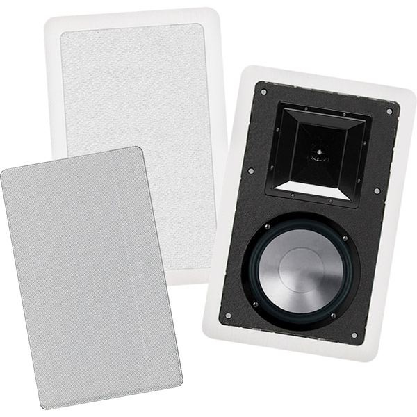 "BIC FH8-W 8"" 175W 2-Way In-Wall Speakers"