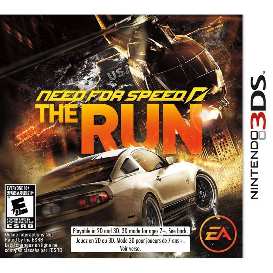 Need For Speed: The Run (nintendo 3ds) -