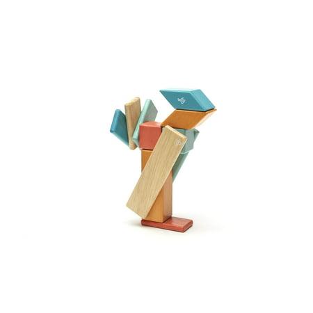 14 Piece Tegu Magnetic Wooden Block Set, Sunset - image 8 of 16