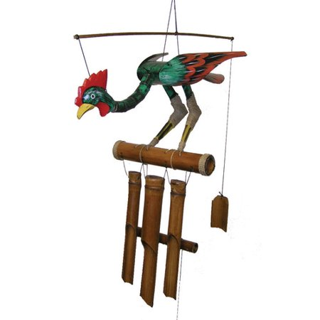 Cohasset Gifts & Garden Annie Rooster Wind Chime
