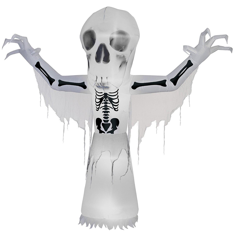 National Tree 10 ft. Thunder Bare Bones Halloween Decoration