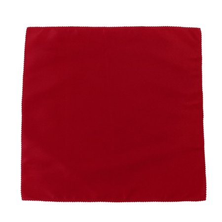 Home Table Fabric Square Glass Mat Placemat Dinner Cloth Napkin Red 48cm x 48cm