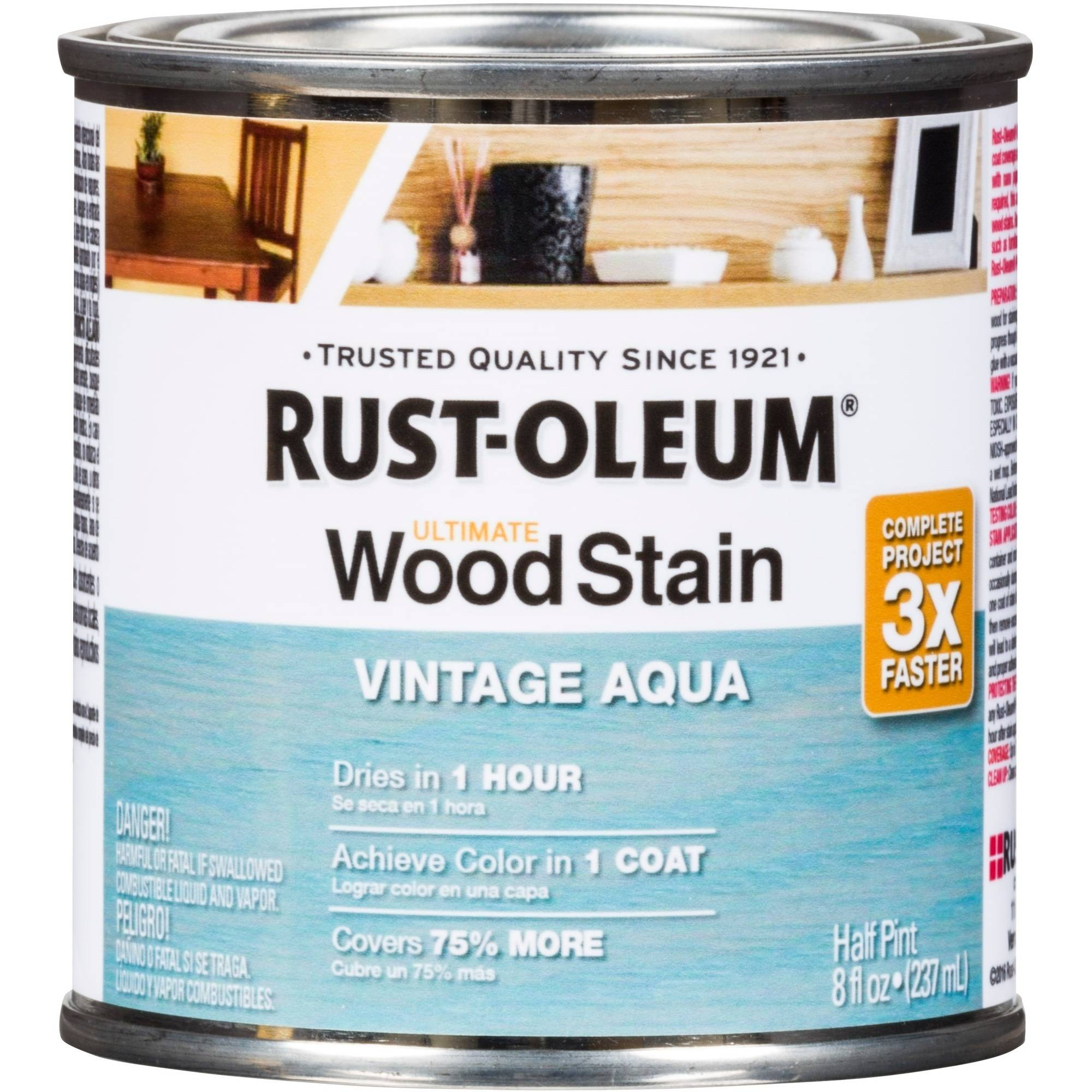 Rust-Oleum Ultimate Wood Stain, Half-Pint