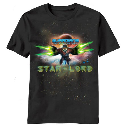 guardians of the galaxy star lord marvel comics movie adult t-shirt tee](Starlord Guardians Of The Galaxy)