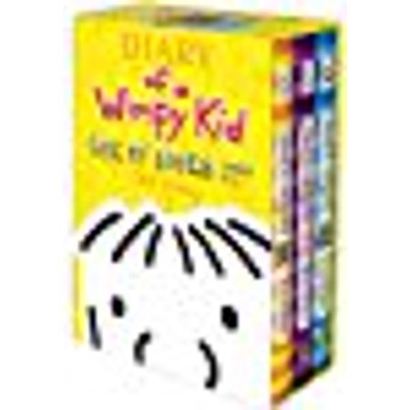Diary of a wimpy kid box of books 4 6 walmart diary of a wimpy kid box of books 4 6 solutioingenieria Image collections