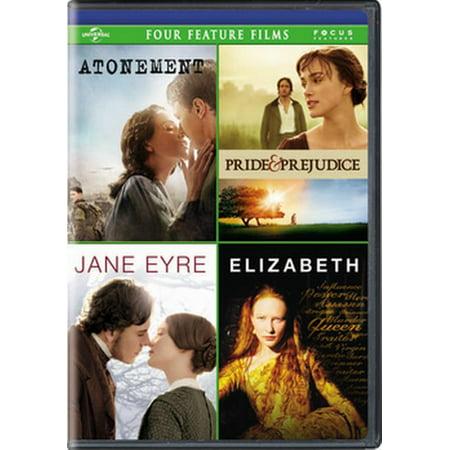 Atonement / Pride & Prejudice / Jane Eyre / Elizabeth (Pride And Prejudice In Pride And Prejudice)