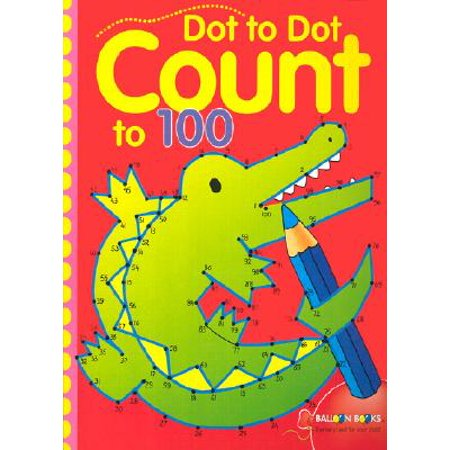 Dot to Dot Count to 100 (Paperback)](Halloween Alphabet Dot To Dot)