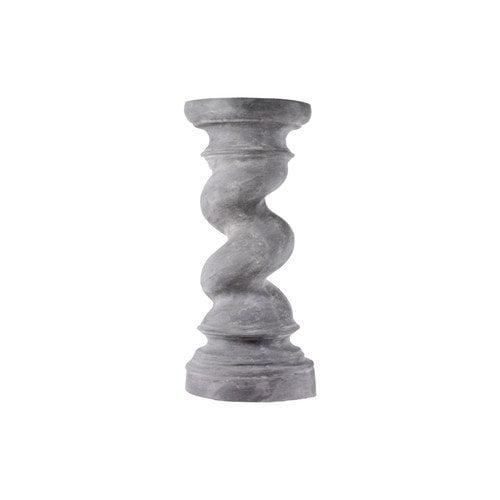 Amedeo Design ResinStone Twisted Pedestal Garden Statue