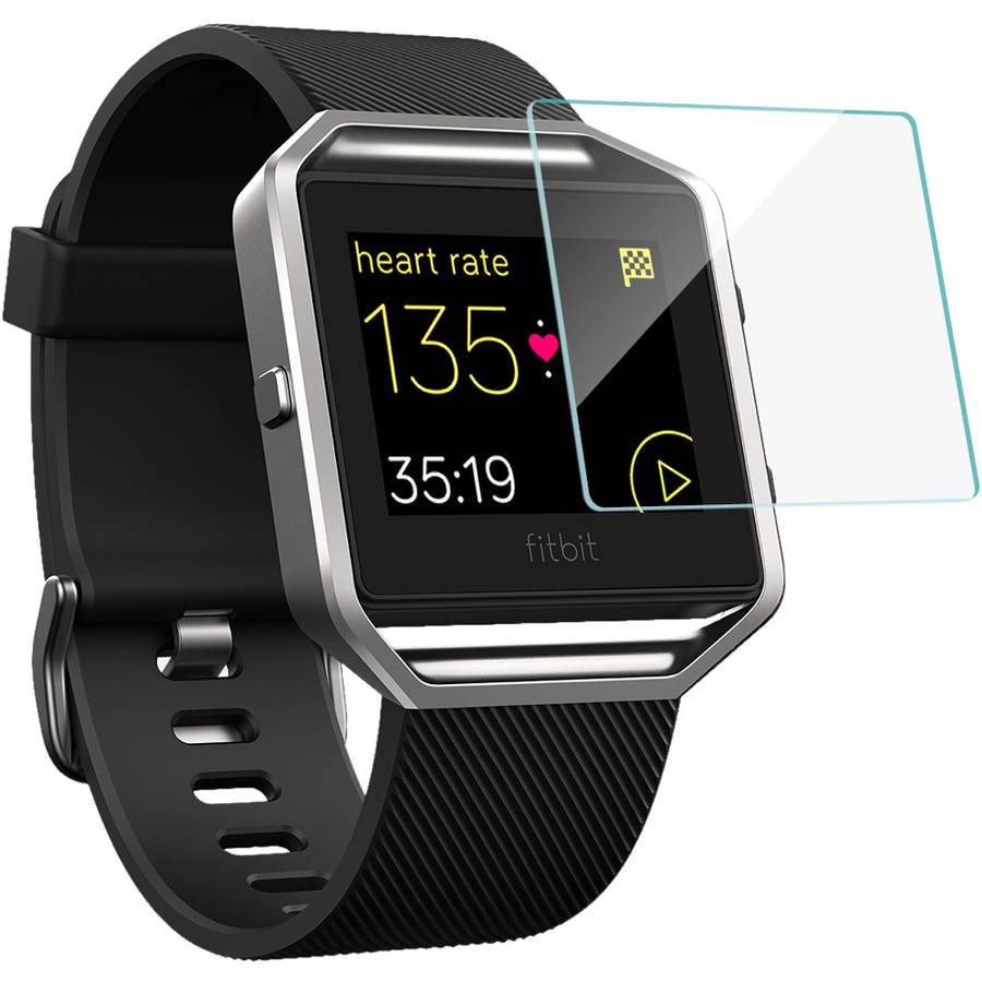 BoxWave ClearTouch Glass 9H Tempered Glass Screen Protection for Fitbit Blaze