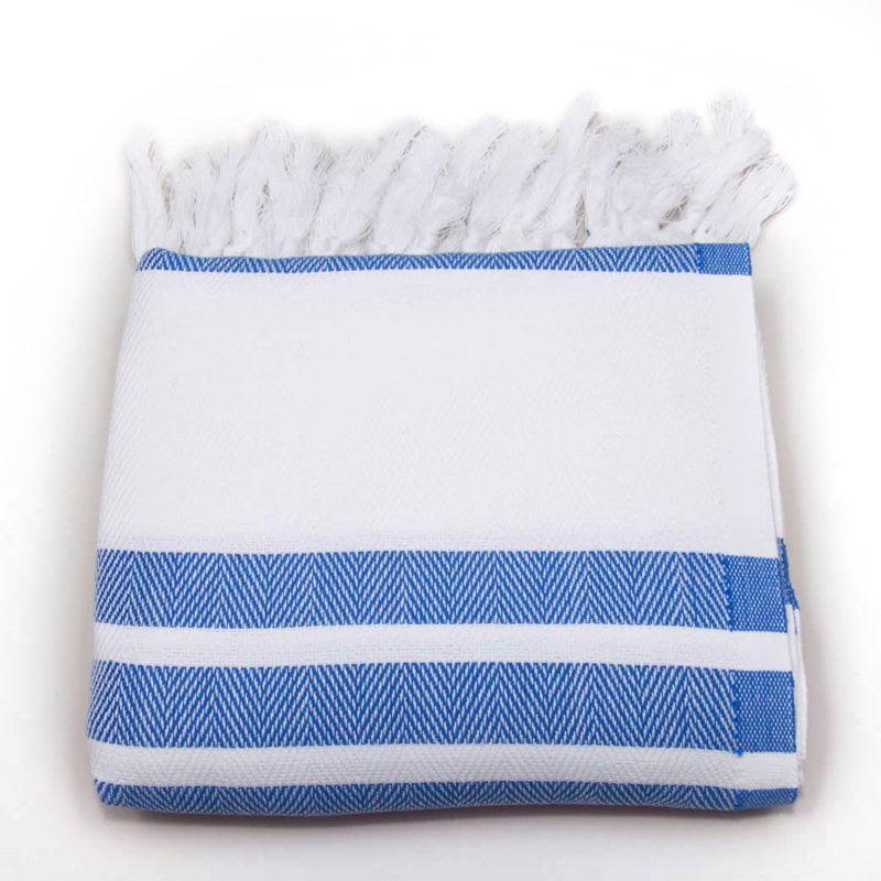 Herringbone 100% Turkish Cotton Pestemal/Fouta Towel