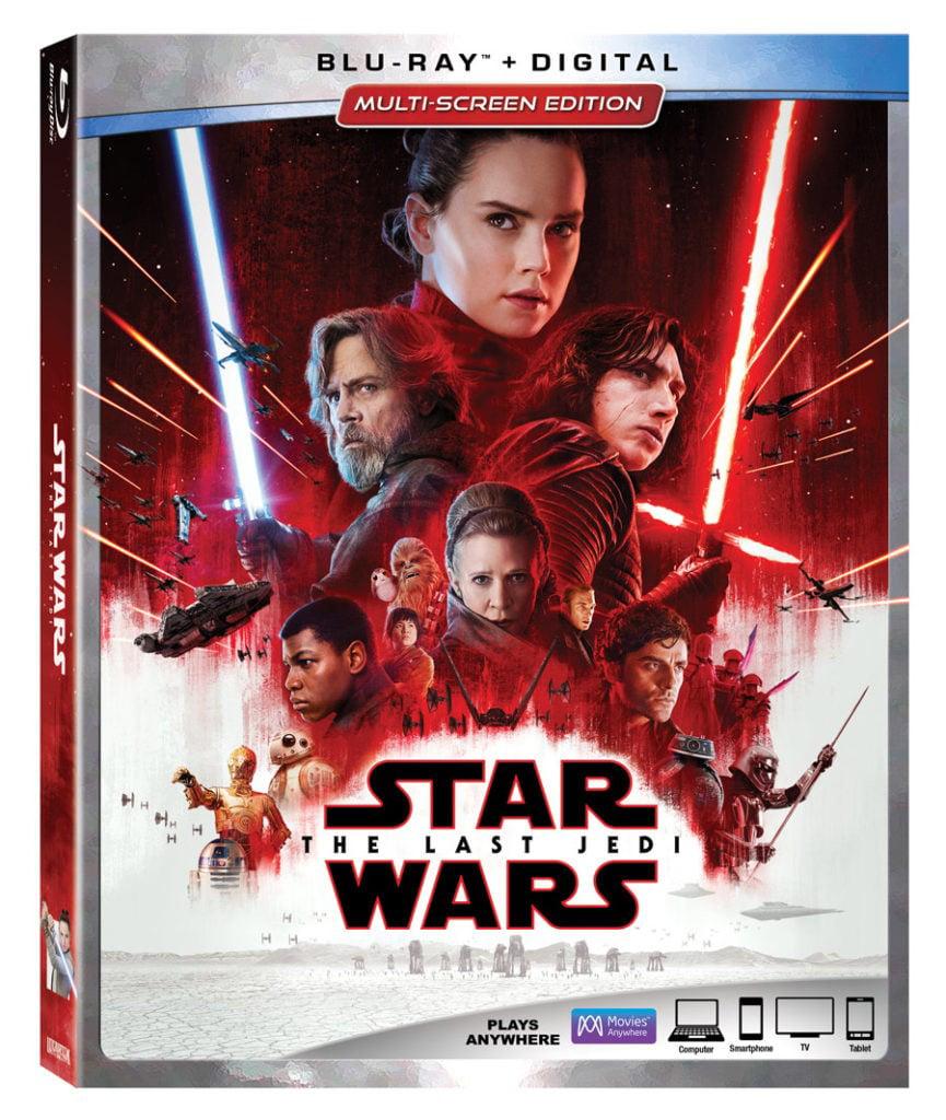 Star Wars: Episode VIII: The Last Jedi (Blu-ray + Digital) by Buena Vista