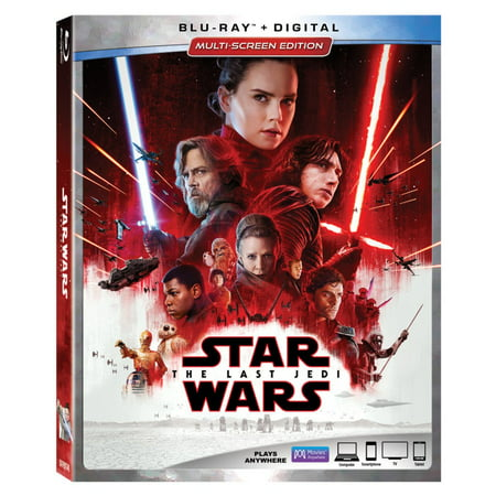 Star Wars: Episode VIII: The Last Jedi (Blu-ray + Digital) for $<!---->