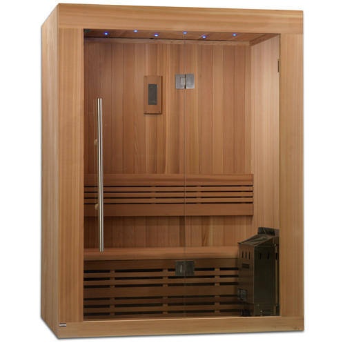 Dynamic Infrared 2-3 Person Traditional Steam Sauna by Geopot