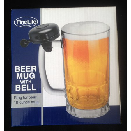 Beer Mug with Bell by Fun Gift - Disposable Beer Mugs