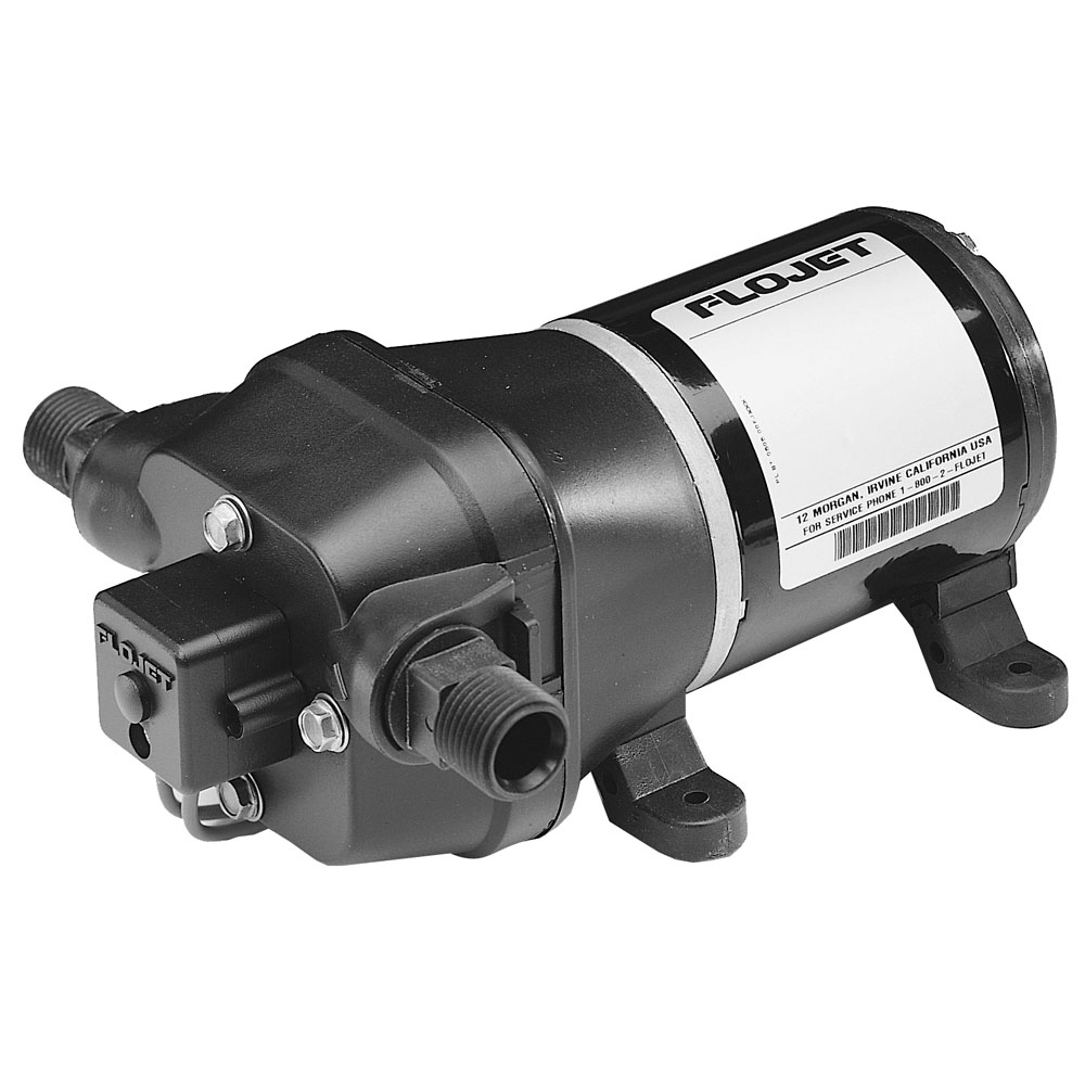 Flojet 12V 40 PSI DECK WASH  PUMP W/ NOZZLE  3.5 GPM